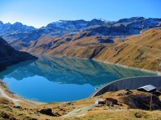 Stausee Moiry im Herbst | Europa » Schweiz | berggeist007 / pixelio