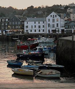 Cornwall Hafenstimmung