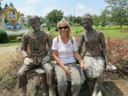 Hedwig Kolonko - im Park in Udon Thani