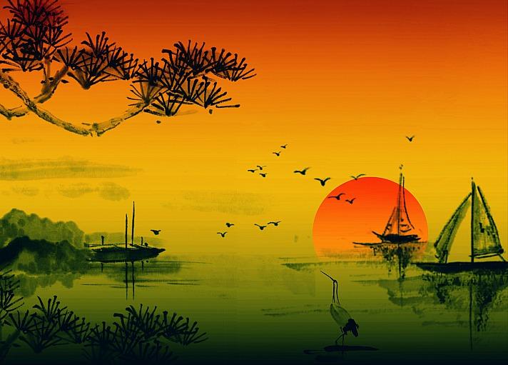 Asiatische kunst InspiredImages/pixabay 73