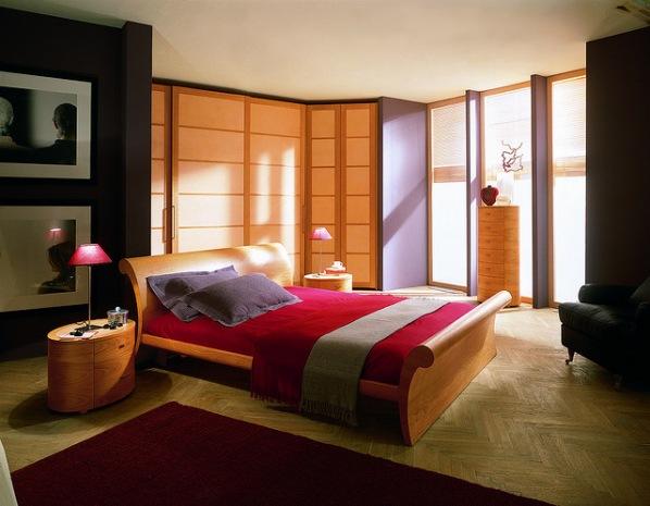 Mazzali:  Accento  bed / il letto  Accento  . Bedroom area