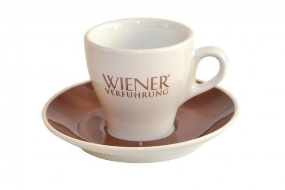 SONNENTOR Porzellan-Melangetasse Wiener Verführung NEU