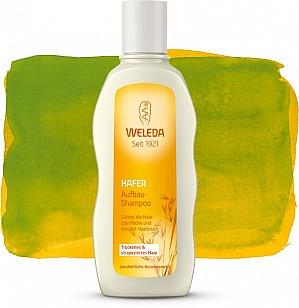 Hafer Aufbau-Shampoo für trockenes & strapaziertes Haar