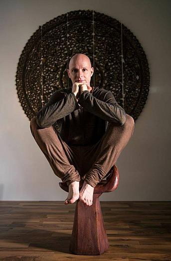 René Hug sitzend