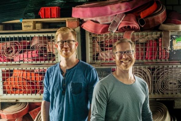 Feuerwear: Die Brüder Martin und Robert Klüsener