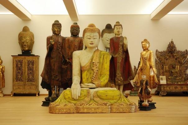 Buddha-Museum Burma Raum