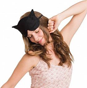Schlafmaske für Schmusekatzen