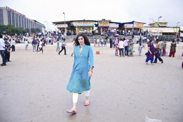 Judith Döker - spazieren in Mumbai