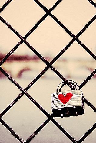 Parisian Love Lock - Die Liebe kommt und die Liebe geht...