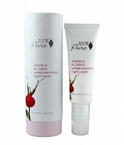 Vitamin A & CoQ10 Wrinkle Smoothing Night Cream