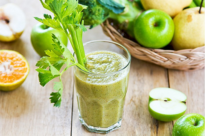 Entschlackungskur Gemüse-Smoothie