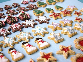 Miniature Xmas Cookies - Preview
