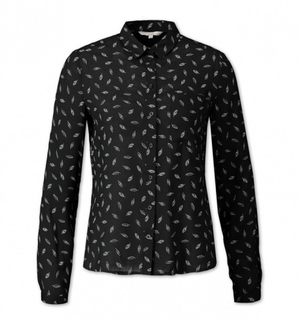 C&A: Print-Bluse