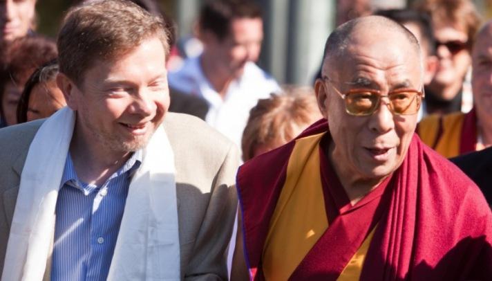 Eckhart Tolle und Dalai Lama