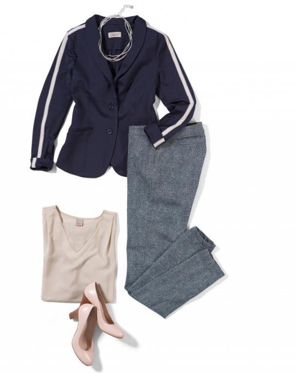 Qiéro! - Blazer Cosim, Hose, Shirt und Schuhe