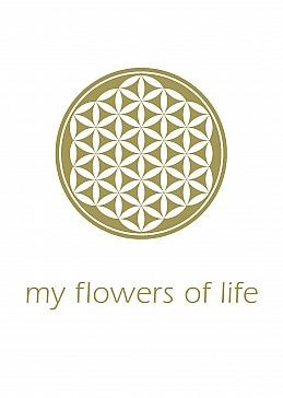 my flowers of life logo