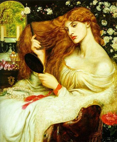 Lilith aus einer etwas anderen Sicht - Dante Gabriel Rossetti - Lady Lilith