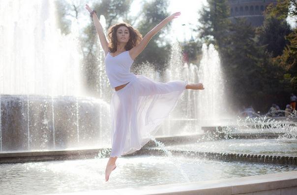 Dancer as model
