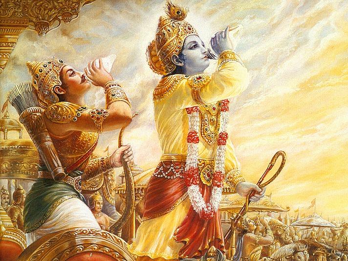 Der Tod ist nur eine Illusion: Krishna Arjuna