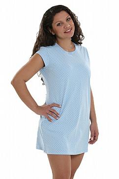 comazo - Sleepshirt, puderblau