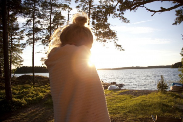 Särkisalo Summer sauna towel People Finland