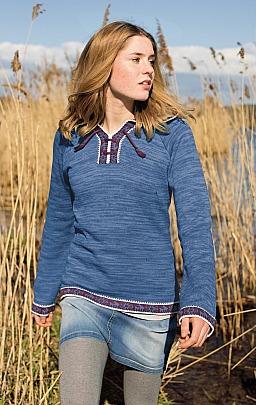 FIT-Z: Mädchen-Kapuzen-Pullover Ethno