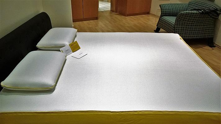 Die eve-Matratze und die eve-Pillows