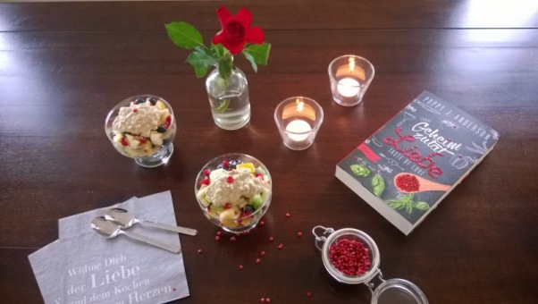 Poppy J. Anderson: Taste of Love - Geheimzutat Liebe - Obstsalat und Kerzen