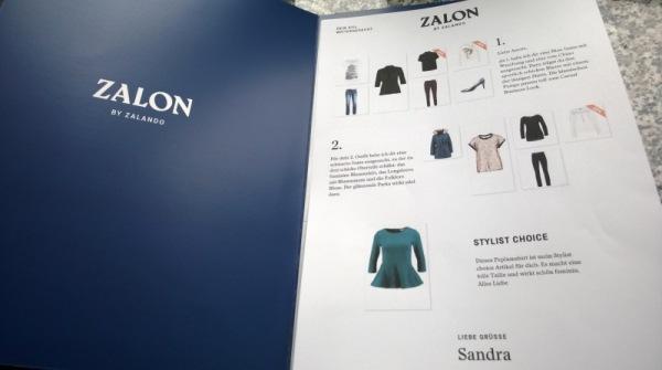 Zalon, der Personal-Shopping-Dienst von Zalando - der Katalog