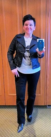 Zalon, der Personal-Shopping-Dienst von Zalando - ein Selfie - ich trag einige Zalon-Stücke