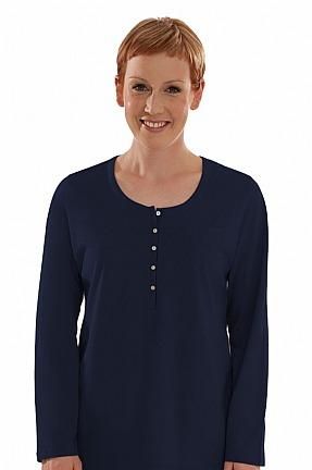 comazo.de: Nachtwäsche Fairtrade Langarm Shirt