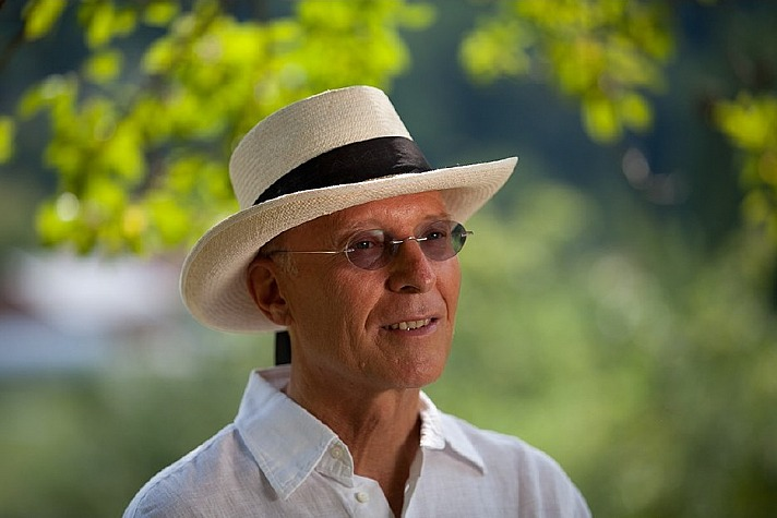 Ruediger Dahlke: mit Hut