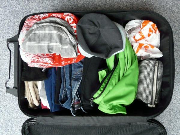 Entspanntes Reisen: Gepäck