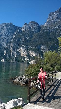 Noa Noa: Kimono am Gardasee am Park von Du lac et du Parc in Riva - Annette Maria