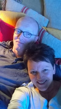 Hotel Eremito: Selfie im Ruheraum - Annette Maria und Axel