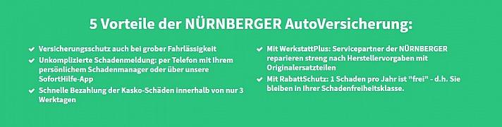Unterstützung für Autofahrer: 5 Vorteile Autoversicherung der NÜRNBERGER