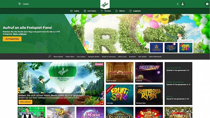 Lust auf Casino? Mr Green machts möglich.