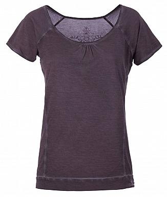 Kamah Yoga: Basic Shirt LASHANA, charcoal