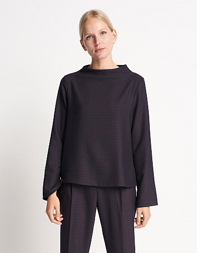 someday: Shirtbluse Zinita jacquard von someday
