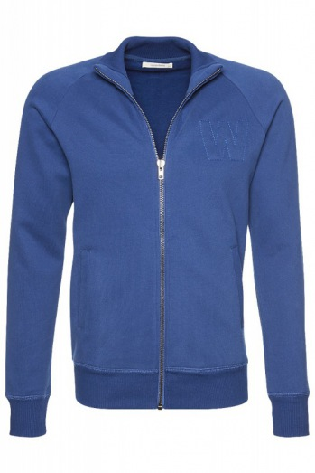 wunderwerk: Soft sweat zipper jacket male