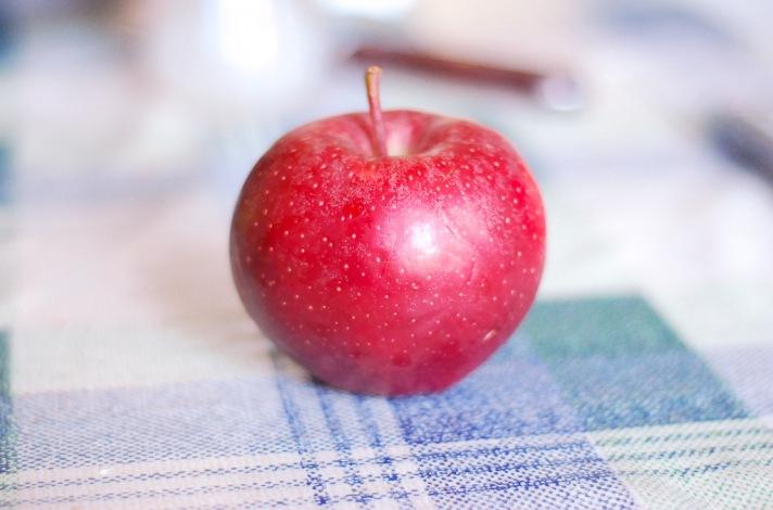 Wenn der Apfel zu Ilona wird