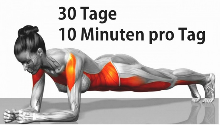 30 Tage 10 Minuten pro Tag