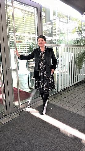 Kala Fashion: Annette Maria am Ruhrfestspielhaus