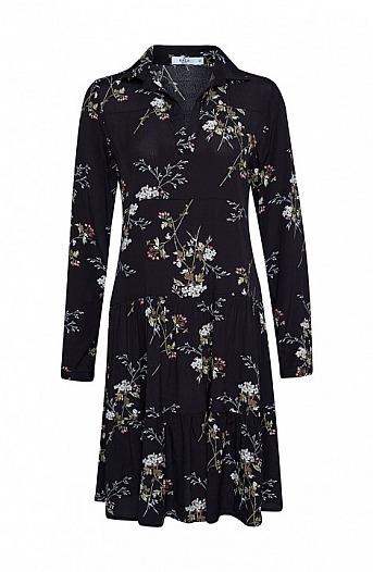 KALA Fashion: Feminines Viskosekleid mit Blumenprint