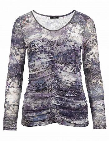 BiBA: Shirt mit Allover-Druck