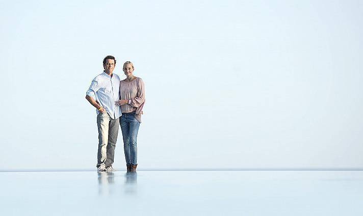 Christina Grahn und Walter Hommelsheim