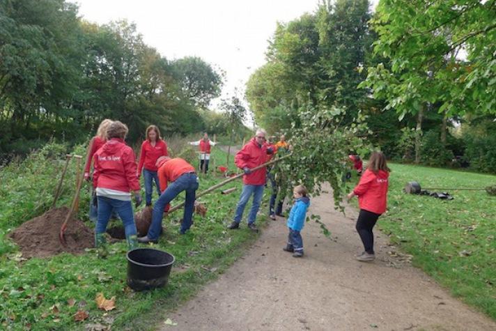 Live To Love: Ulmen für Hamburg - Bäume pflanzen in Ohlsdorf