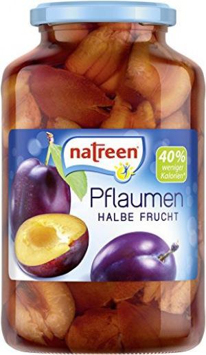 Natreen - Pflaumen halbe Frucht - 700g/385g