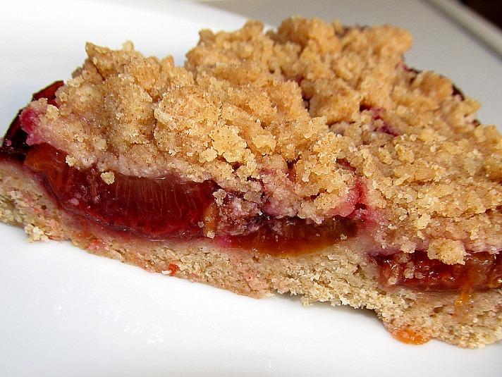 plum pie - Pflaumenkuchen - ein Klassiker hat Saison
