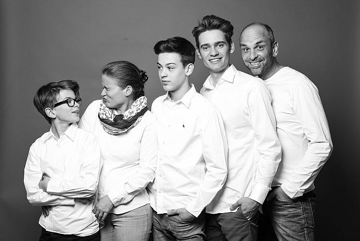 Patrick Lynen - mit family